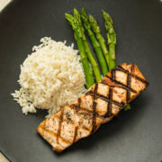 Grilled Salmon - Plain Jane