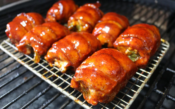 Chicken Bacon Thighs
