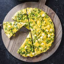 frittata broccoli