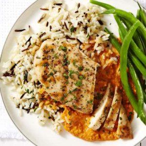 Chicken Romesco