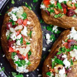 Loaded Mediterranean Potato